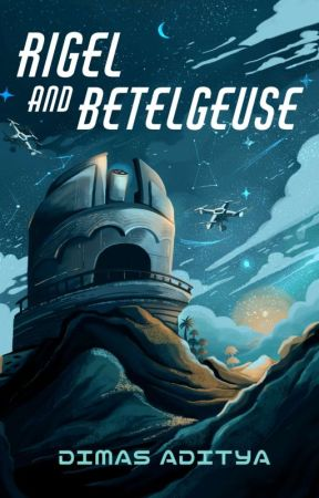 Rigel and Betelgeuse by Maple_Media