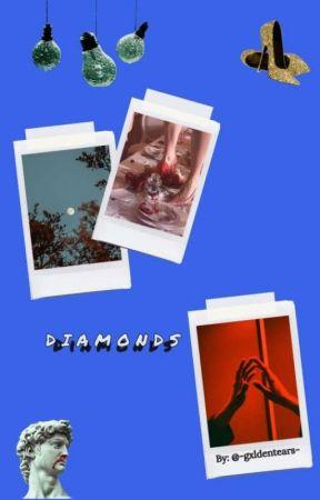 D ɪ ᴀ ᴍ ᴏ ɴ ᴅ s  |  ᵐᵃʳᵃᵘᵈᵉʳˢ ᵉʳᵃ  by -marzipanstars