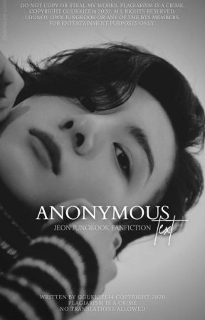 Anonymous Text | JJK by ggukkiee14