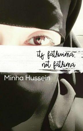 It's Fathwima. Not Fathima by nefesmin