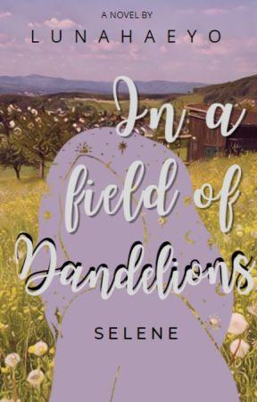 In a field of Dandelions by lunahaeyo