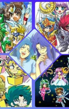 Memes y Mini Comics de Saint Seiya  by LAZYCHRIS-