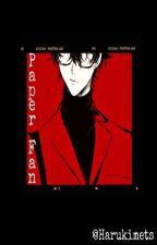 Paper Fan    Katekyo Hitman Reborn by JutsuAki