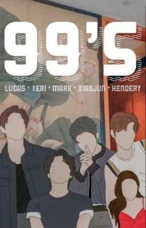 99's ; Lucas/Yeri/Mark/Xiaojun/Hendery by YRCITY
