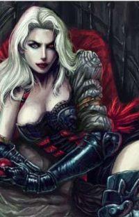 Vampire Queen x Innocent shy shota Reader cover