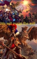 Warhammer x rwby: the son of Emperor  by Tophatarmyboy