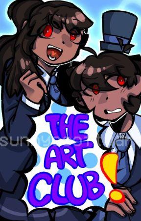 The Art Club(Thafverse DDLC AU) by simpmochi