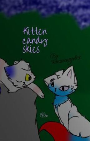 Kitten candy skies  by russiacatgirl13
