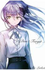 Don't Forget Me (Kyo Sohma) by larkobean