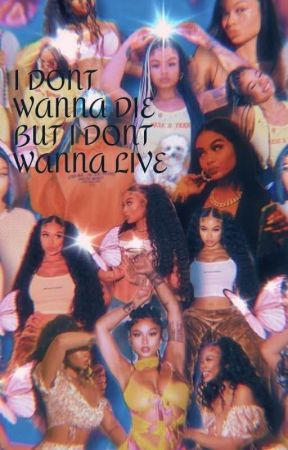 i don't wanna live , but i don't wanna die🥀 by yslbarb