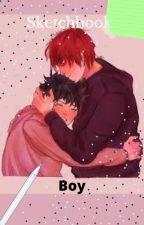 Sketchbook Boy- A Tododeku Story by Wolfies_Writes