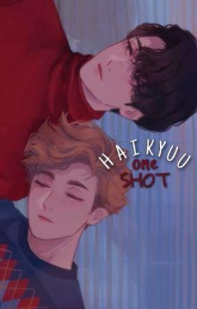 one shot ‹ haikyuu › by swgamama