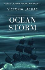 Ocean Storm by VictoriaLachac