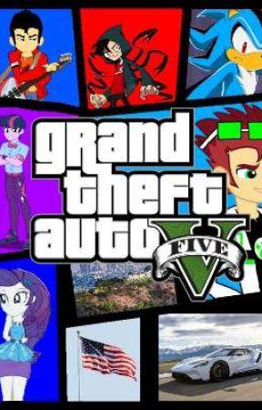 Grand Theft Auto V (Parody Story/Remake) by CloudenArmorFlash26