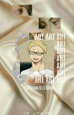 Art // Tsukishima Kei x Reader by Dil_With_This