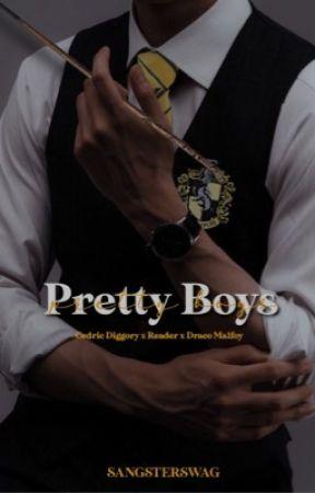 Pretty Boys ➸ Cedric x Reader x Draco by sangsterswag