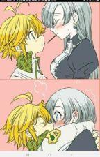 Your mine...Elizabeth x meliodas TheSevenDeadlySins by Naruto_Girl12