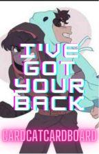 I've Got Your Back (MCYT Superhero AU) by CardCatCardboard