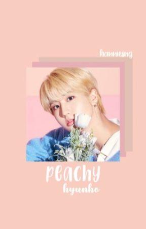 peachy / hyunho by hanniesng