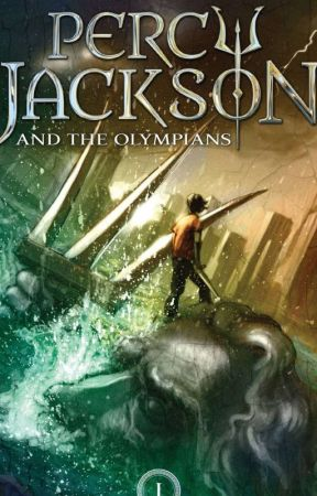 Reading Percy Jackson and The Lightning Theif by Alexthedragon1306