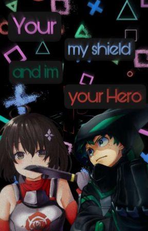 Your My Shield And Im Your Hero (Bofuri x Bnha) (izuku x kaede) by Littleme_Jayden