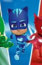 Pj Masks and other characters react to Death Battles by Caro06M