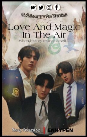 Love And Magic In The Air     Yang Jungwon by solivagante