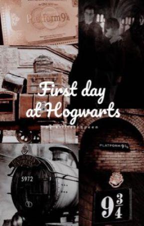 First Day at Hogwarts by killlerrqueen