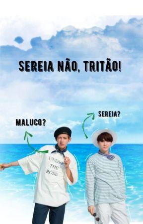 Sereia não, Tritão by floral1617
