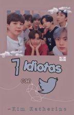 ✨7 Idiotas con Twitter✨ →Yoonmin, Namjin y Hopevkook by _kpop_honey