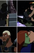 Spitfire, Chalant, and Supermartian Young Justice by WritingEasesYourPain