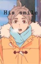 His smile (Sugawara x Reader) Haikyuu! by _ranposglasses_