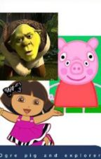 Peppa Pig X Sherk  by Pxtters_Bxtch