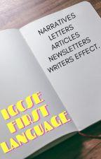IGCSE 1ST LANGUAGE by miniaturequeenz