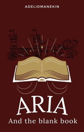 Aria and the blank book by Lacicu_
