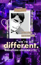 different (wakatoshi ushijima x OC) by oikawasbiss