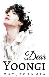 Dear Yoongi » yoongi cover