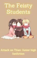 Aot x Reader (Aot junior high) [Very Slow Updates] by TartagliaLess