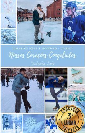 Nossos Corações Congelados - Coleção Neve e Inverno - Projeto Estações by carolzinha_Snow