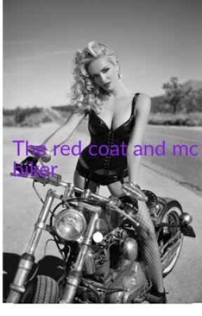 The red coat and mc biker  by charlottemaymay