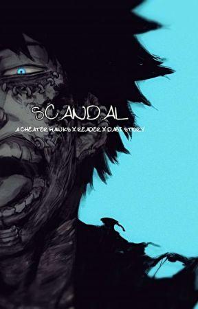 Scandal (Cheater Hawks x Reader x Dabi by GladioBaby
