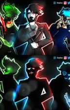 Kidnapped (Darkiplier, Antisepticeye, and Blankgameplays) by beanie__meanie