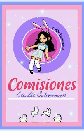 Comisiones ★~k a w a i i~ ★ Fanfics  by CecilieSolomonova1