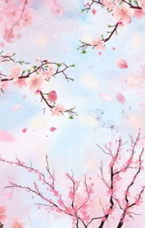 cherry blossoms in the wind by rinasteele