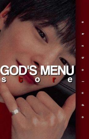 메뉴   GOD'S MENU STORE° IDEAS PARA FANFICS by skzboludo