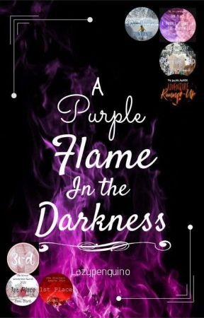 A Purple Flame in the Darkness by Lazypenguino