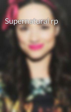 Supernatural rp by Tessa_Stark2
