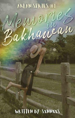 Memories in Bakhawan (AS#1) -ongoing- by sxnnxxs