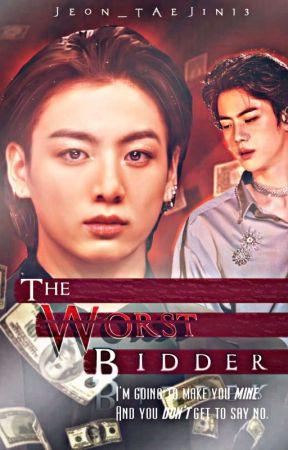 The Worst Bidder | Kookjin ✓ by Jeon_Taejin13