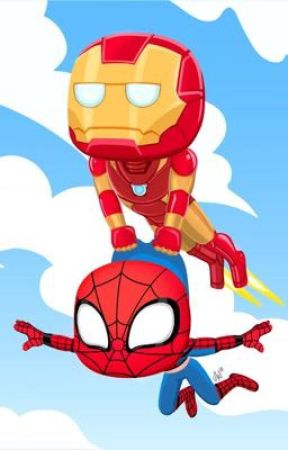 Irondad and spiderson oneshots  by mostlygayshipper18